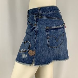 Levi's | Distressed Limited Edition Jean Skirt
